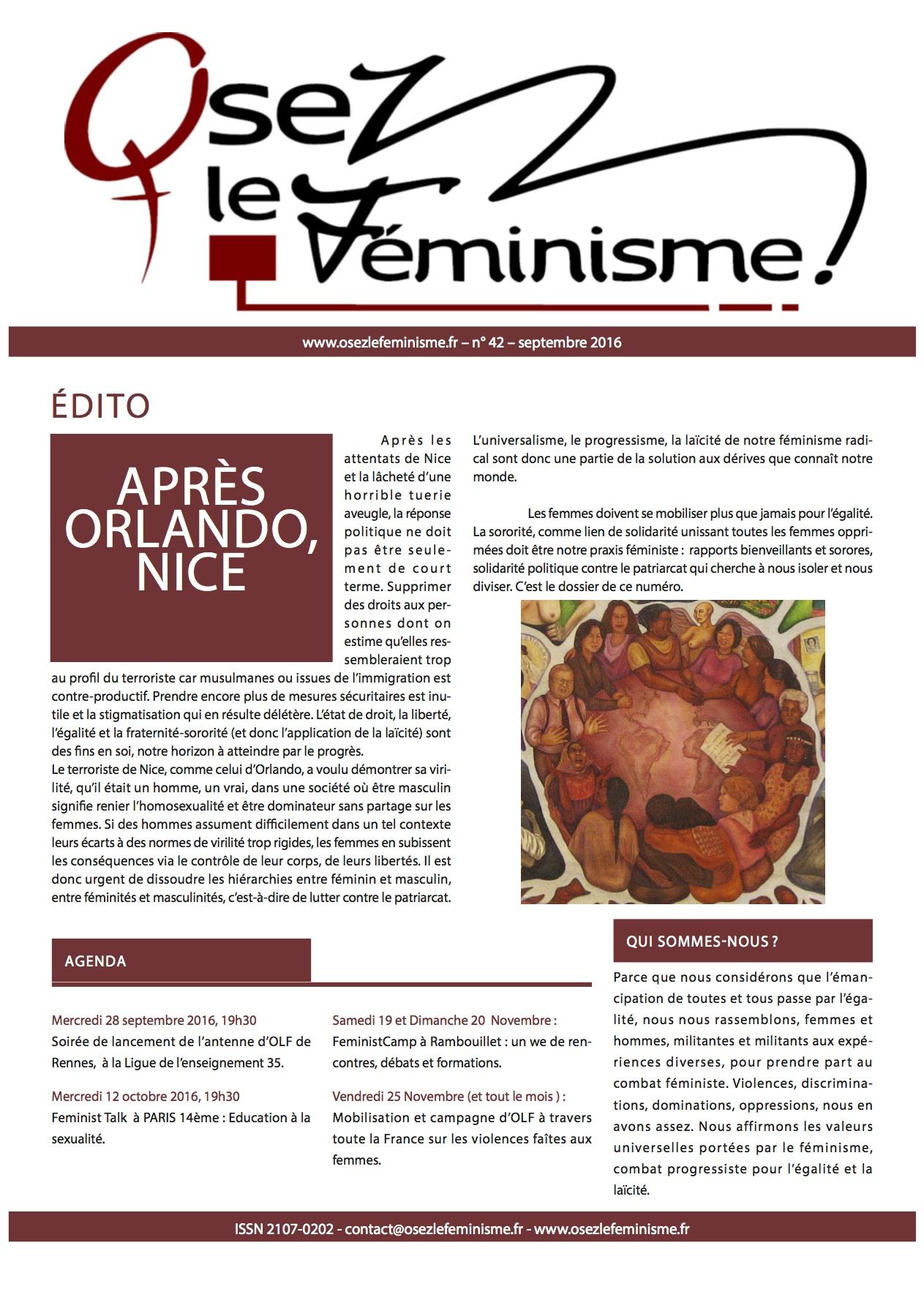 Journal 42 d'Osez le féminisme !