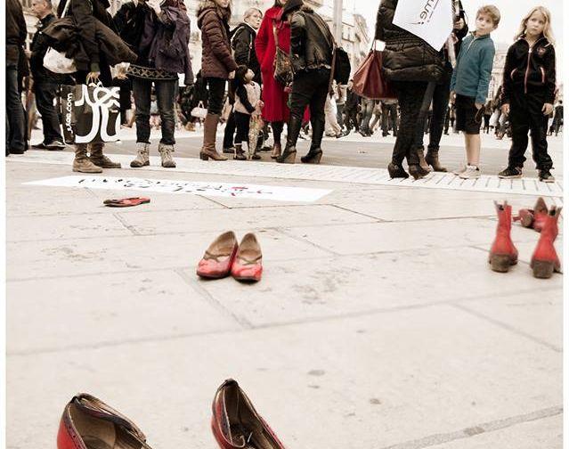 OLF 34 : Action dans le cadre de la campagne Reconnaissons le féminicide