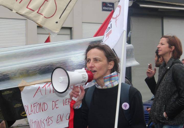 OLF 59 : Action lors du 1er mai à Lille