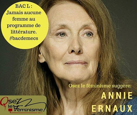 Bac de mecs Annie Ernaux