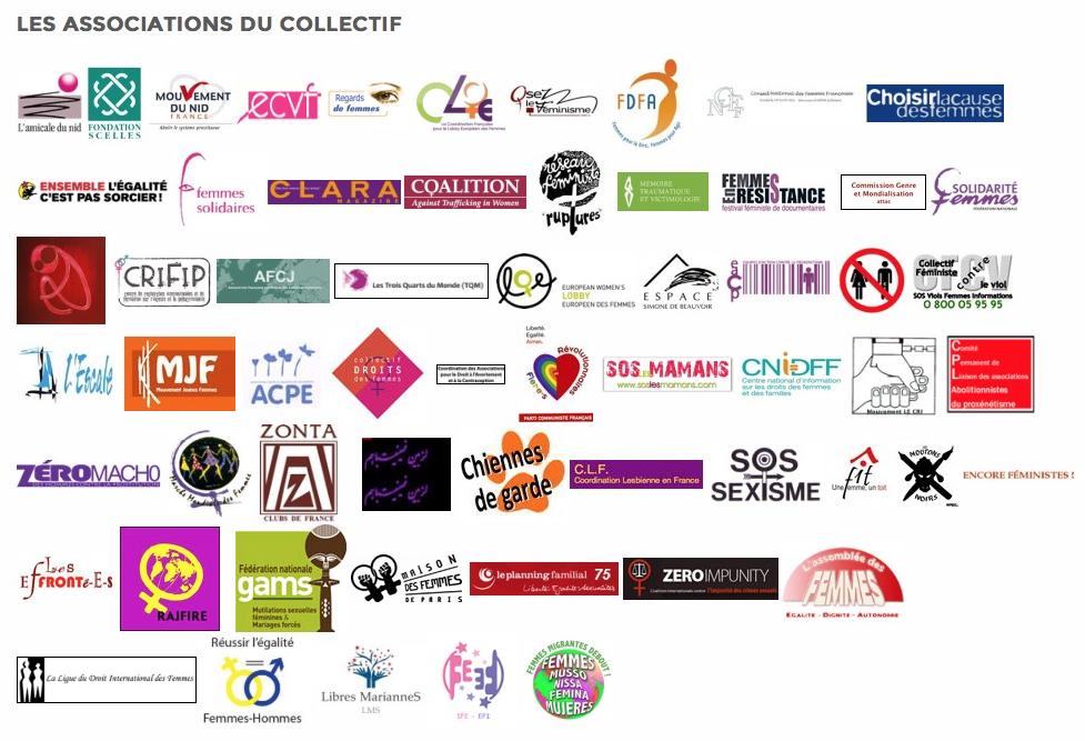 logos de toutes les orgas abolition