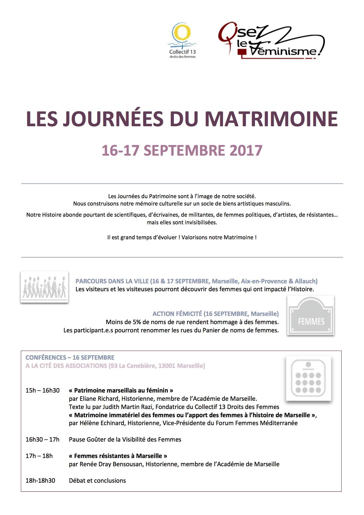 3-BAT 2017 DOSSIER DE PRESSE Matrimoine