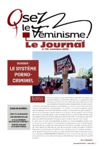 Journal numéro 53 Osez Le Féminisme - Dossier Le Système Porno-Criminel