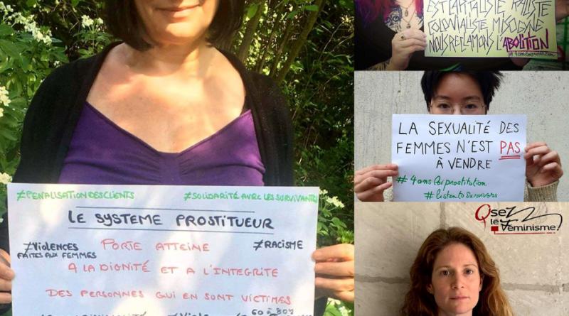 Photos de la Campagne numérique 4 ans loi abolition