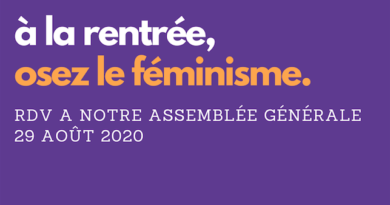 Assemblée Générale d'Osez le Féminisme !