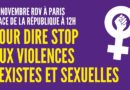 Manifestation 25 nov 2020