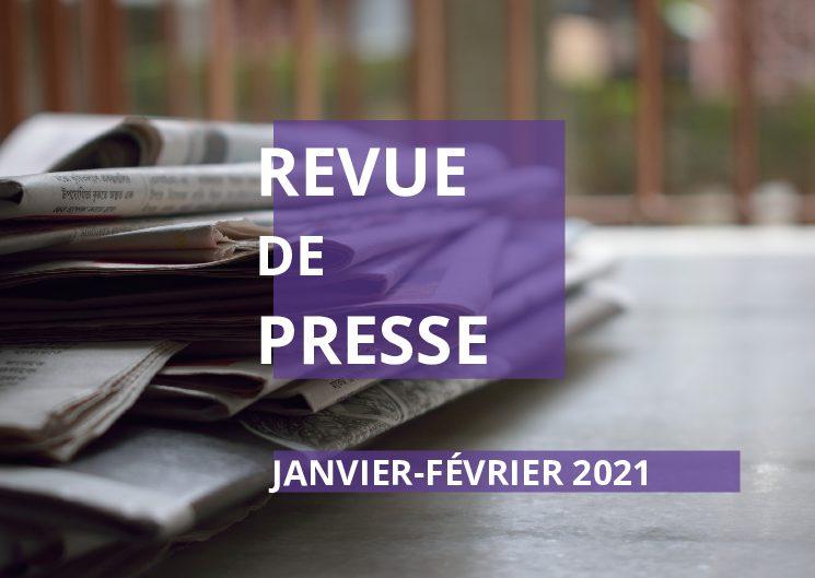 La revue de presse de janvier-février 2021 d'Osez le Féminisme !