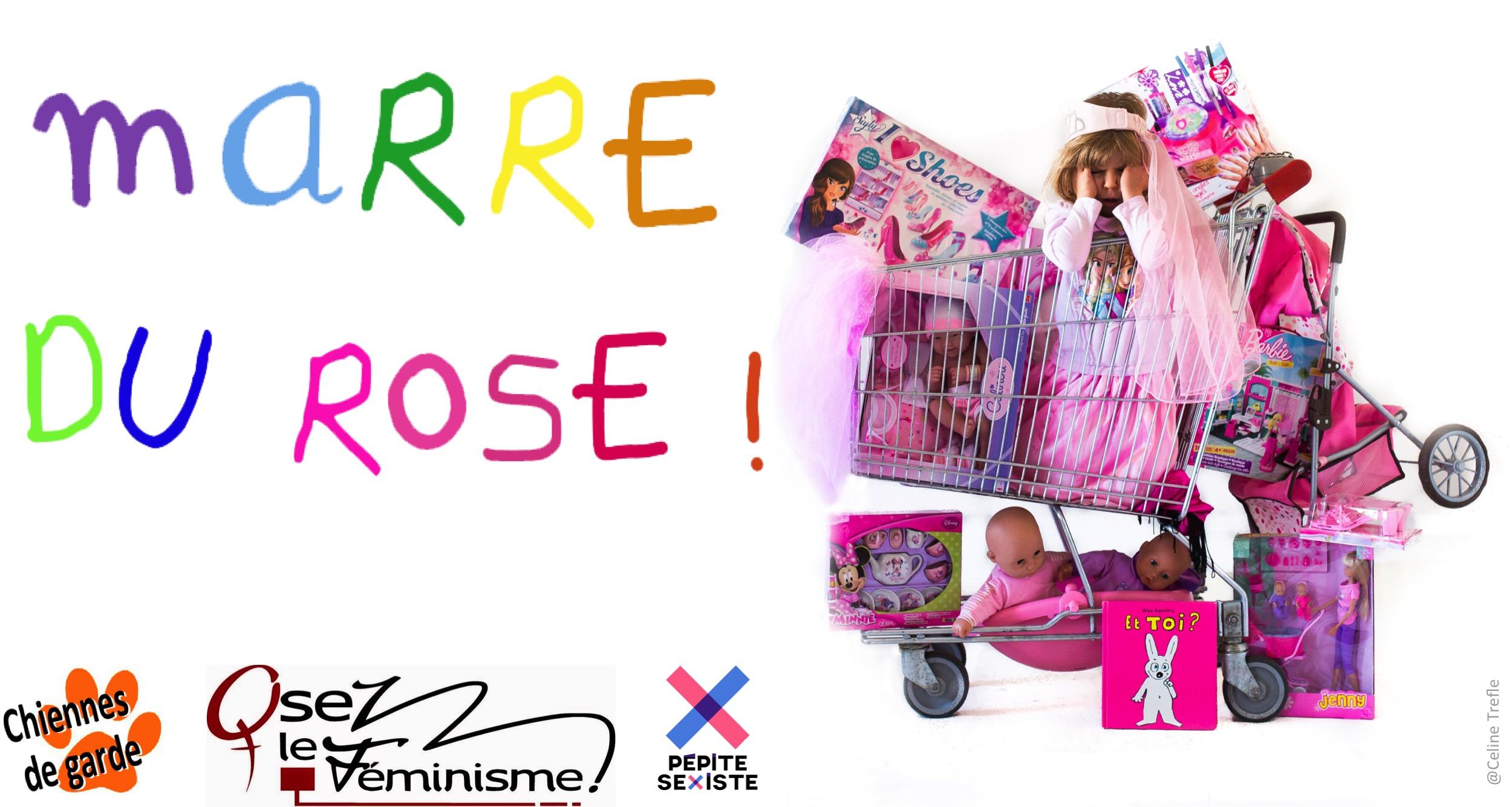[MARRE DU ROSE] Jouets : Stop aux stéréotypes sexistes !