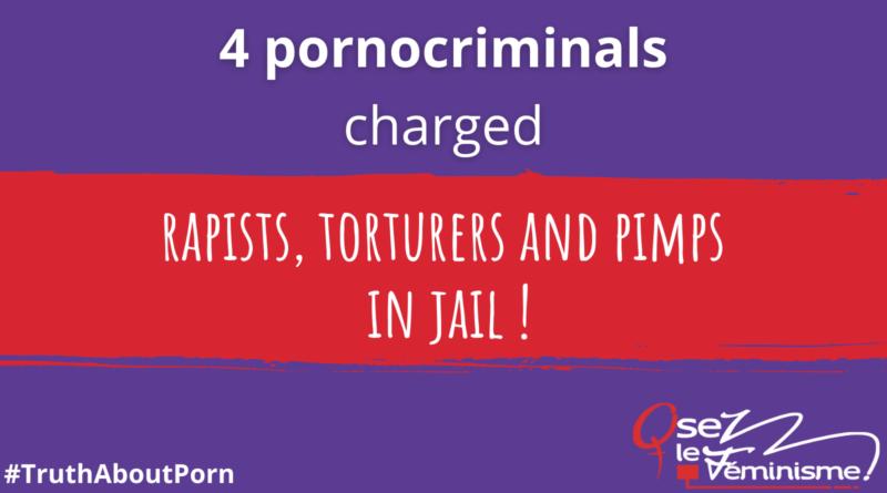 4 pornocriminals charged