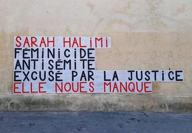 AFFAIRE SARAH HALIMI – Manifestations nationales et internationales – dimanche 25 avril