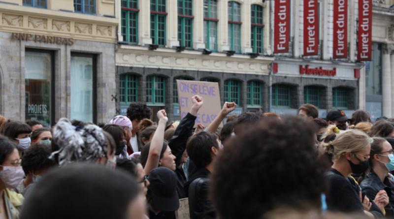 OLF 59 - Manifestation contre le remaniement ministériel