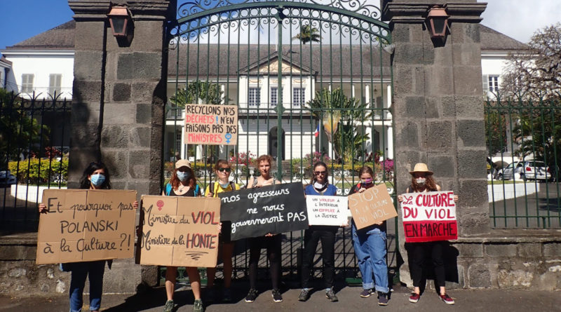 OLF 974 - Manifestation contre le rassemblement ministériel