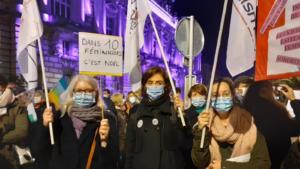 OLF 37 - Manifestation du 25 novembre
